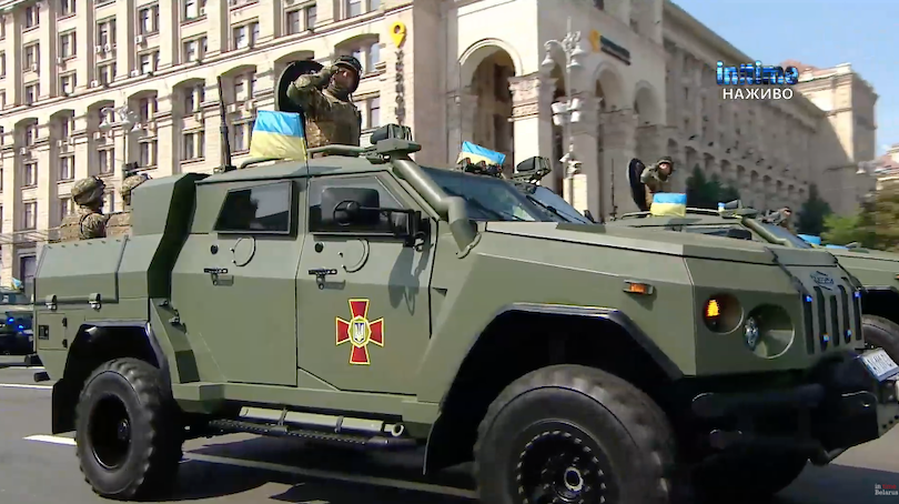 парад в Украине 2021