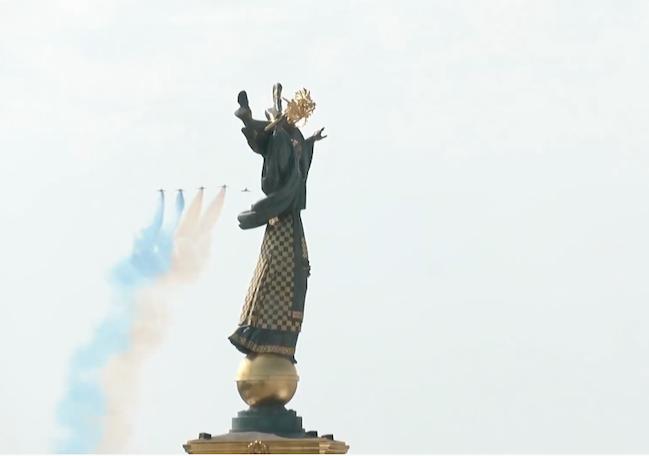 авиационная часть парада украина 2021