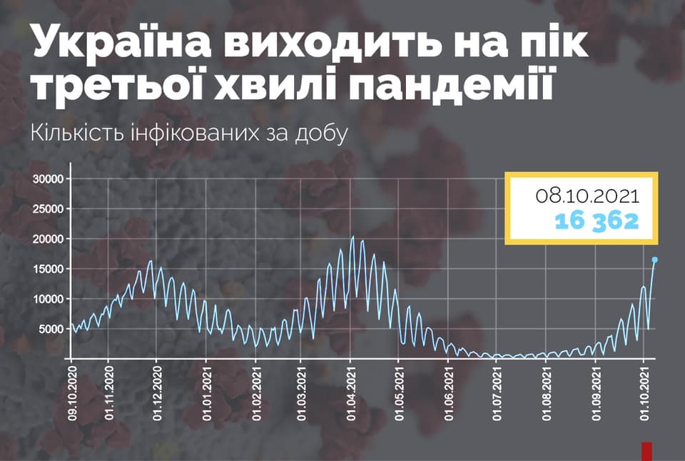 График волн коронавируса