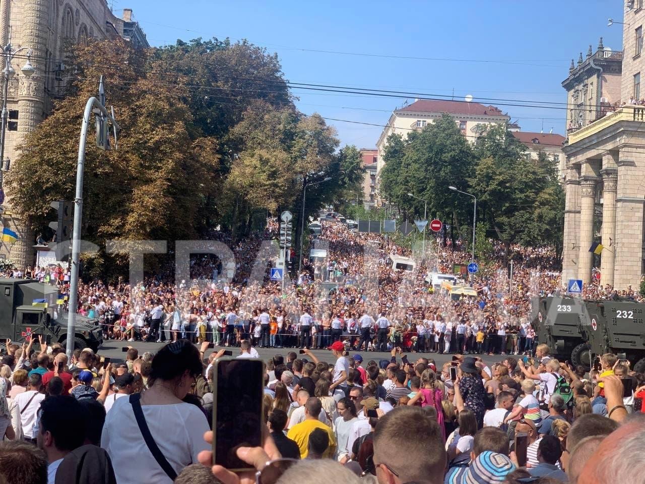 киев парад 24 августа 2021