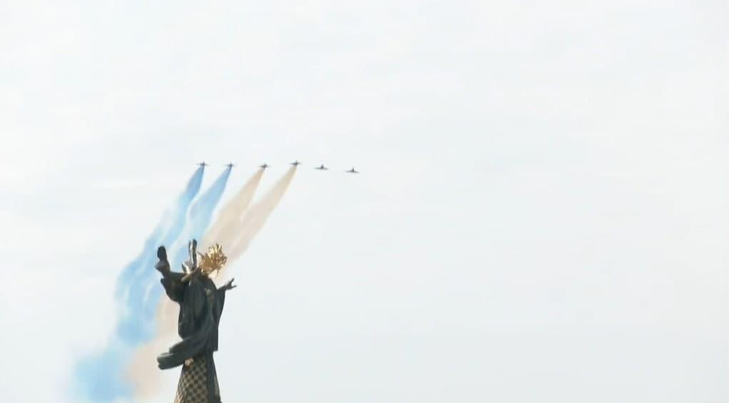 флаг украины авиация
