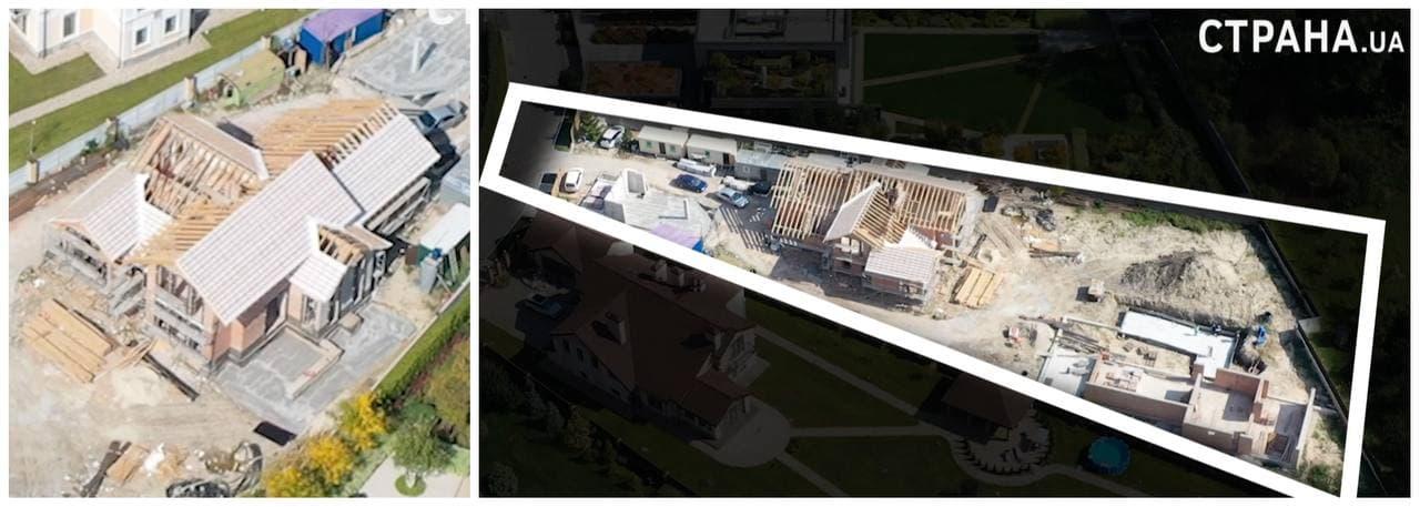 """Куратор """"Большого строительства"""" Кирилл Тимошенко ускорил возведение своего особняка под Киевом. Фото и видео"""