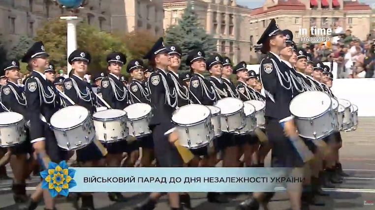 военный парад день незалежности
