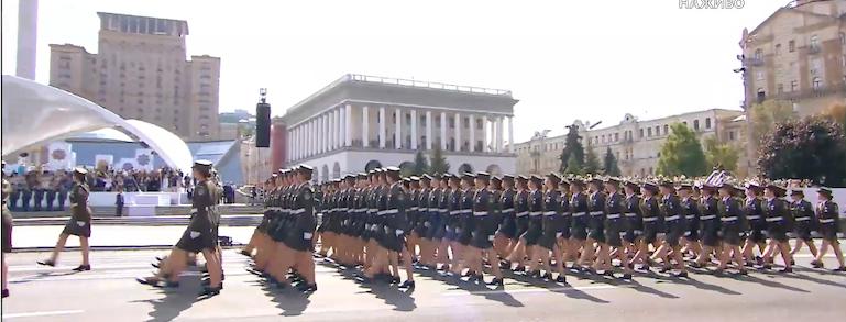парад в Киеве сегодня